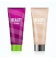 Cream Tube Mock Up Set vector image vector image