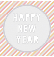 Happy new year greeting card5 vector image vector image