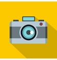 Photo camera icon flat style vector image vector image