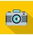 Photo camera icon flat style vector image