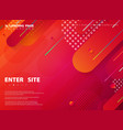 abstract tech colorful stripe line web landing vector image