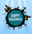 creative halloween design vector image vector image