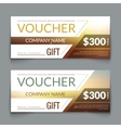 Discount Voucher market Design Template with vector image vector image