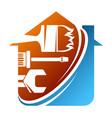 home repairs symbol tool vector image vector image