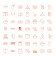 49 sale icons vector image vector image