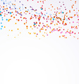 Bright colorful paint splash dot background vector image vector image
