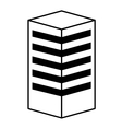 building construction isolated icon design vector image vector image