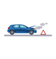 car and transportation breakdown vector image vector image