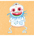 Cute little monster vector image vector image