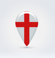 English icon point for map vector image vector image