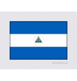 Flag of Nicaragua Aspect Ratio 2 to 3 vector image vector image
