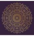 Mandala ornament Vintage decorative elements vector image vector image