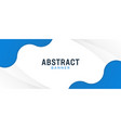 abstract modern gradient banner with blue theme vector image