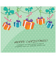 Cute Christmas Cards vector image vector image