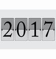 Flip Board 2017 vector image