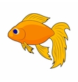Goldfish icon in cartoon style vector image vector image