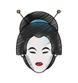 Isolated china woman design vector image vector image