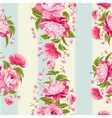 Luxurious flower wallapaper vector image vector image
