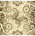 Seamless silvery pattern vector image vector image