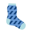 Sock icon isolated vector image vector image