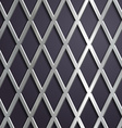 Steel geometric background vector image