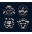 tattoo emblems 1 vector image