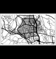terrassa spain city map in retro style outline map vector image vector image