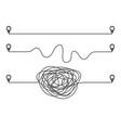 three ways development concept vector image
