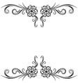 traditional oriental ethnic motif of india mogul vector image vector image