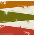 Abstract grunge background template design vector image