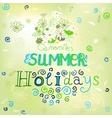 01 Holidays background vector image