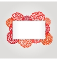 Banner and frame for web design vector image