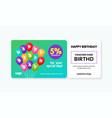 birthday gift voucher card template design 5