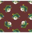 circular saw seamless pattern vector image vector image