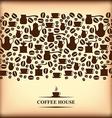 coffee horizontal blur vector image vector image