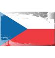 czech Republic national flag vector image