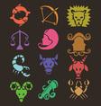 Horoscope Digital Clipart 2 vector image vector image