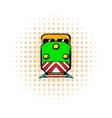 Locomotive comics icon vector image vector image