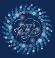 new year greeting symbol vector image vector image