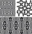 Patterns different seamless vector image vector image