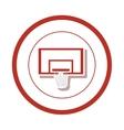 Basketball board sport vector image