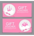 Baby Gift Voucher Template vector image
