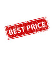 best price sign sticker stamp texture vector image vector image