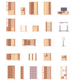 cabinets set vector image