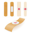 medical plaster for sealing the wounds stock vector image vector image