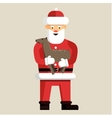 Santa Clause ready for christmas vector image