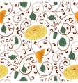 Seamless pattern with chinese ornament vector image vector image