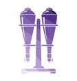 soda siphon equipment icon vector image vector image