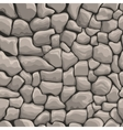 stones wall seamless texture vector image vector image