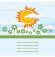 sun rise vector image vector image